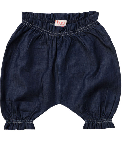 NEW INDIGO CHAMBRAY BABY BLOOMERS 1