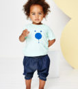 NEW INDIGO CHAMBRAY BABY BLOOMERS