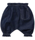 NEW INDIGO CHAMBRAY BABY BLOOMERS 2