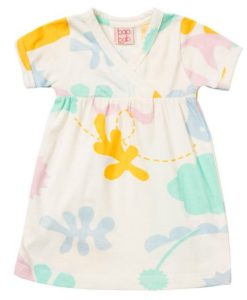 Baobab Abstract Garden Baby Dress