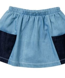 Baobab - New Chambray Pocket Skirt